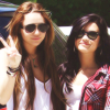 Miley and Demi
