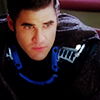 Glee- Nightbird Blaine by nowheretogo26
