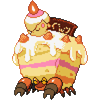 Crustle Cake