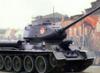 параде, на, танк