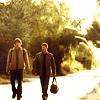 ellerkay: Sam and Dean walking