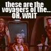 These are not the voyages you're looking