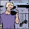 coffee, hawkeye
