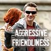 The Queen of Procrasti-nation: agressive friendliness