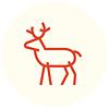 vucubcaquix - red reindeer