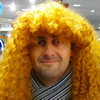 желтый волосатый аватар
