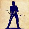 Hawkeye Silhouette