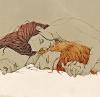 Арон и Алиса спят