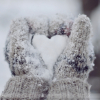Снежное сердечко