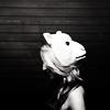 dianna agron; masks