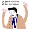 rapheal shit
