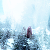 ouat snow ruby snowy trees