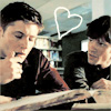 heart, Dean and Sam