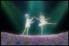 brightly lit, princess tutu