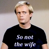 so not the wife