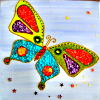 Butterfly: multi colour