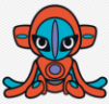 Deoxys doll art