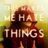 NG: hate things