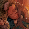 lotr_hobbit_KiliFili_fanart_kiss