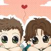 <chibi sam & dean>