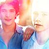 Teen Wolf-Stiles & Scott sunset colors