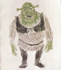 shrek made of type