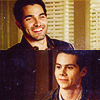 Stiles/Derek (smiling)