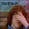 JC - Jonathan - facepalm