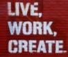 create, work, live