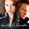 Clint/Natasha (Beautiful Disaster)