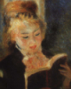 Читающая девушка. Ренуар