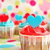 Cupcakes // heart