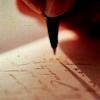stock: writing