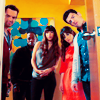 they're so much fun to hang out with, new girl, fab five