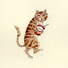 marchskies: sneaky cat