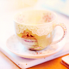 afternoon tea cup