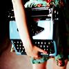 {stock} writing » girl w/ typewriter