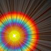 Solar Rainbow Flare
