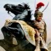 Alexander & Oxhead (Bucephalus)