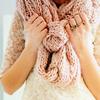 Весенний шарфик