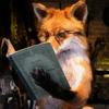 лис с книгой