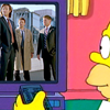 Why all the pearls?Why all the hair?Why anything?: SuperSimpsons - Homer and Team Free Will
