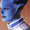 vg | me ☆ asari space princess