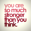 Nine: so much stronger than you think