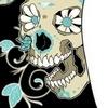 Hippie Flower Skull