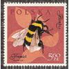 Polish bee stamp by longina