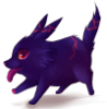 fire wolf puppy