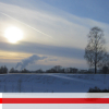 замчище, зима, холм, снег, городище