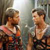 no good either: [Spartacus] Spartacus + Agron