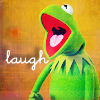 Jill aka Jo: Happy: Muppets Kermit Laugh